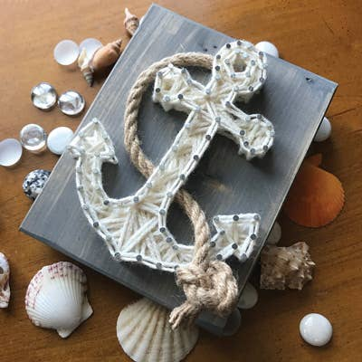Anchor Mini String Art Kit - DIY