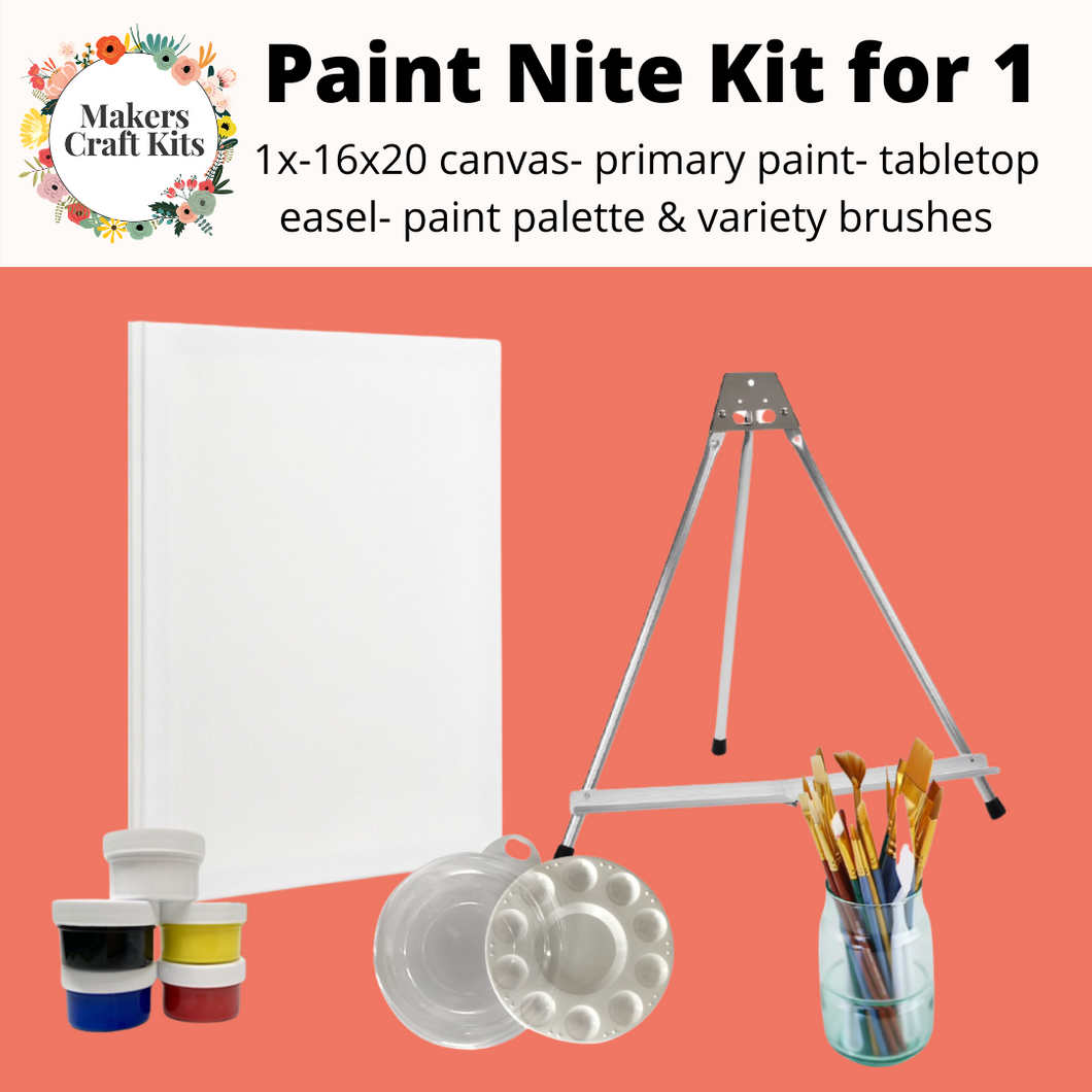 Makers Paint Nite Kit for 1