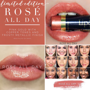 Lipsense: Rosé All Day Liquid Lip Color Bundle