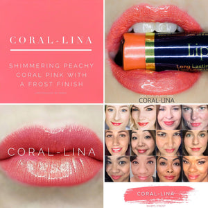 Lipsense: Coral-Lina Liquid Lip Color