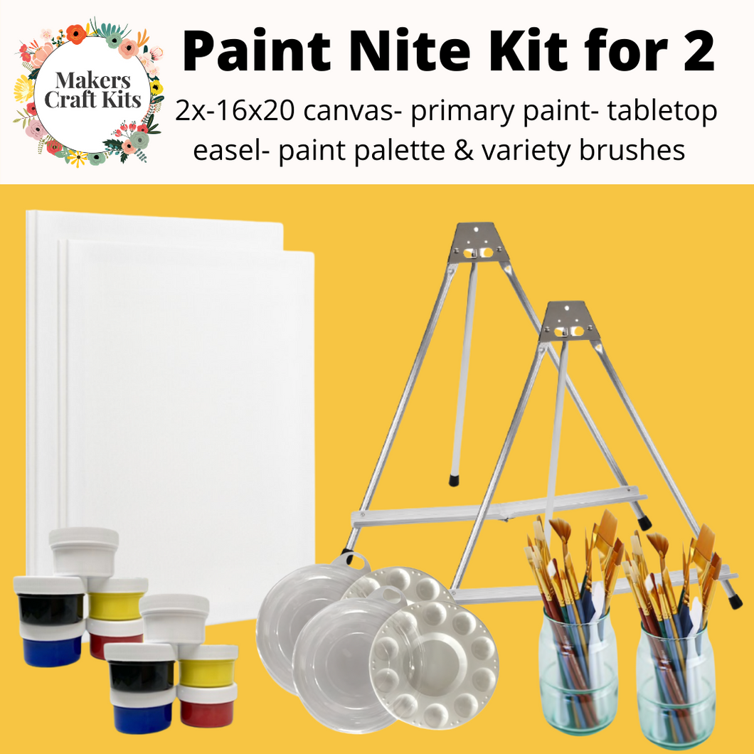 Makers Paint Nite Kit for 2