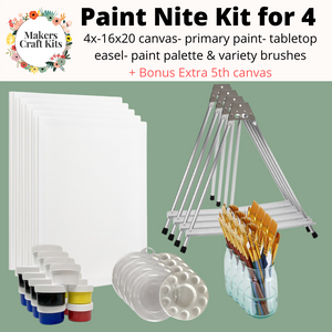 Makers Paint Nite Kit for 4