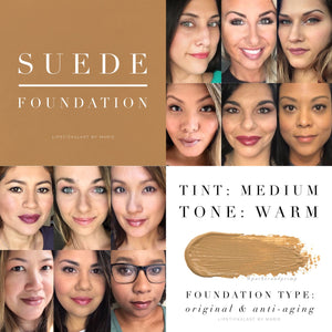 Makesense: Advanced Anti-Aging Foundation - Suede (FULL SIZE TESTERS)