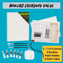 Load image into Gallery viewer, Makers Everyday Value Artist at Home Kit 11x14- Ships Priority