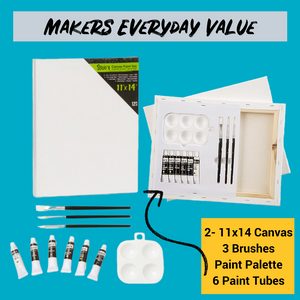 Makers Everyday Value Artist at Home Kit 11x14- Ships Priority