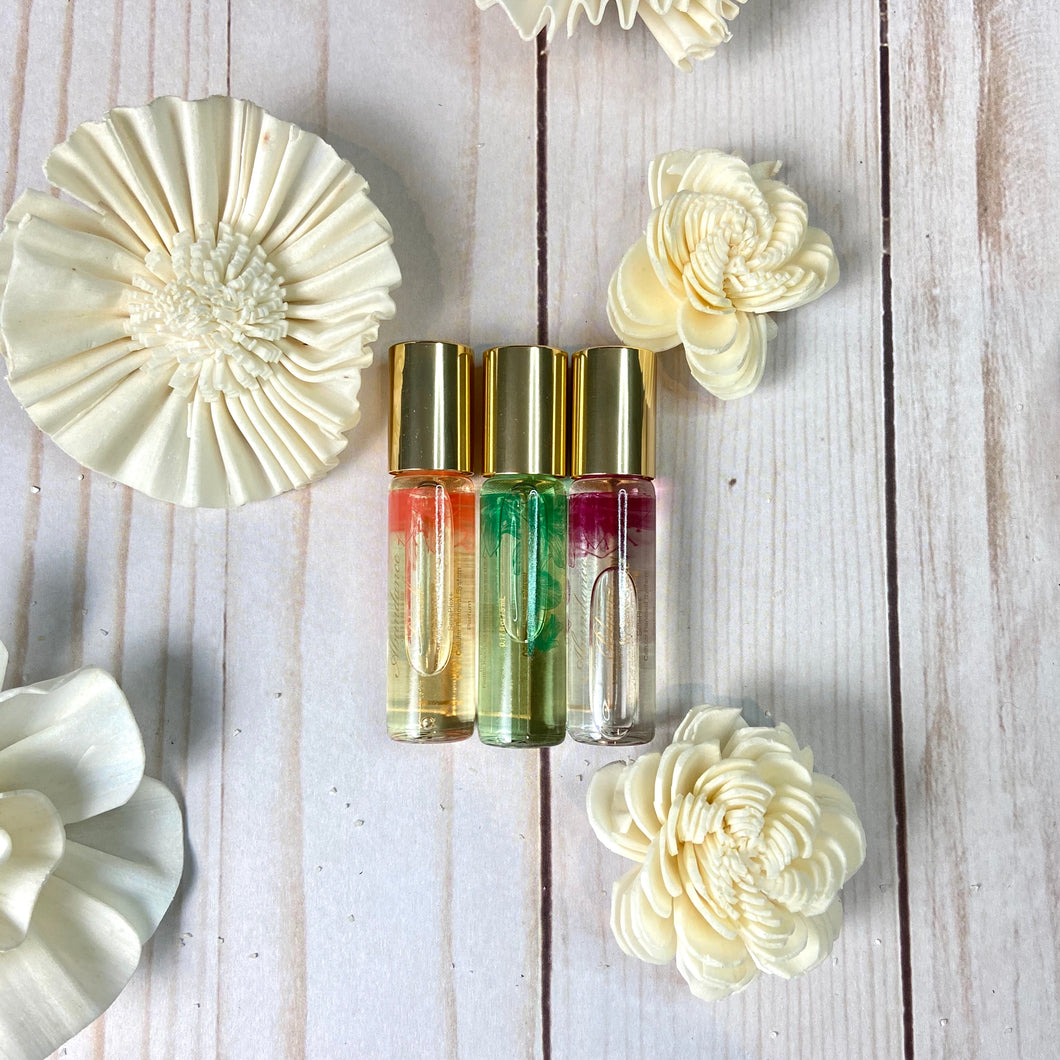 Abundance Perfume Travel Trio