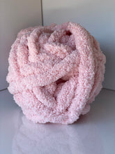 Load image into Gallery viewer, Light Pink Chunky Knit Yarn
