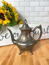 Load image into Gallery viewer, Beauty and the Beast Party Decoration: Silver Teapot