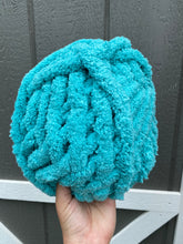 Load image into Gallery viewer, Aqua Chunky Knit Yarn - ships after December 11th