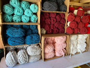 Surprise Chunky Blanket Colors! Includes 5 skeins - Makers Choice
