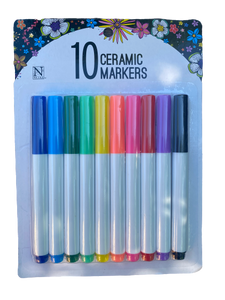Ceramic Markers Set of 10