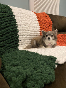 Luck of The Irish Chunky Blanket DIY Kit- 6 Balls Included