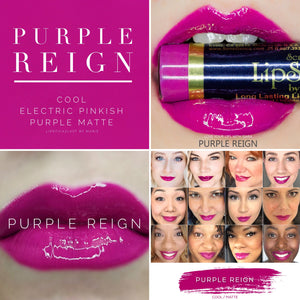 Lipsense: Purple Reign Liquid Lip Color Bundle