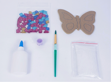 Load image into Gallery viewer, Make a Mosaic- Butterfly Kit