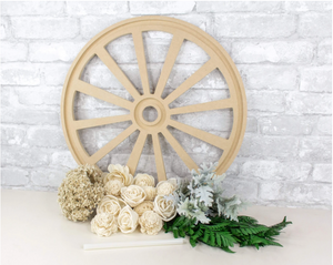 Sola Flower Wagon Wheel Craft Kit