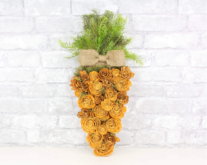 Spring Carrot Craft Kit- Sola Flowers