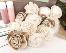 Load image into Gallery viewer, Burlap Centerpiece Craft Kit