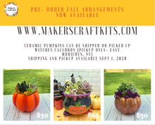 Load image into Gallery viewer, Ceramic Pumpkin Pre-Order Available September 1st