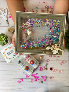 DIY Art Resin Seascape Kit: Surprise Colors Shop choice!