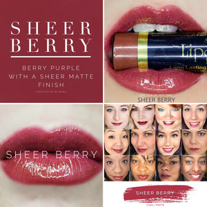 Lipsense: Sheer Berry Liquid Lip Color