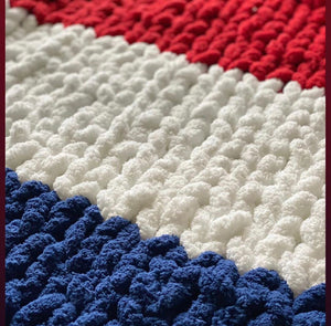 Red, White and Blue Blanket Kit