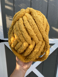 Sunflower Yellow Chunky Knit Yarn