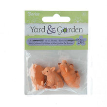 Load image into Gallery viewer, Yard And Garden Minis - Pigs - Resin - 1.4 X 1 Inches - 3 Pieces