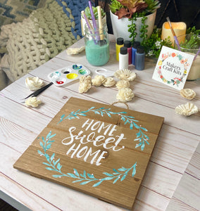 On Sale for Limited Time! Instagram Spécial - Home Sweet Home - Design a Sign Kit