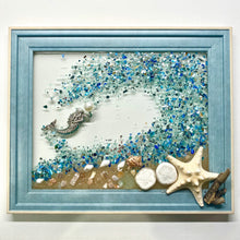 Load image into Gallery viewer, DIY Art Resin Seascape Kit: Blue Theme