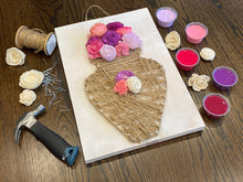 Load image into Gallery viewer, Jessie Collection: String Art and Wood Flower Kit