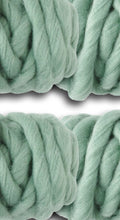Load image into Gallery viewer, Sage Green Roving Yarn