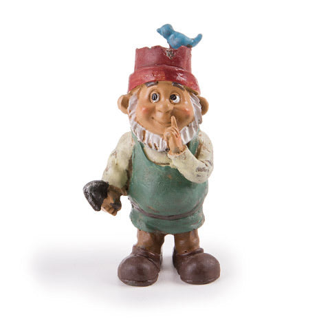 Bird Hat Gnome Boy 3.5""