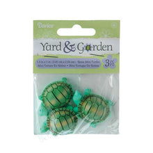 Load image into Gallery viewer, Yard And Garden Minis - Turtles - Resin - 1.5 X 1 Inches - 3 Pieces
