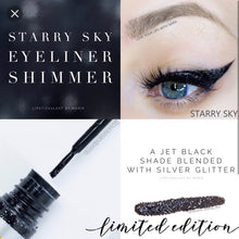 Load image into Gallery viewer, Eyesense: Starry Sky Shimmer Liquid Eye Liner