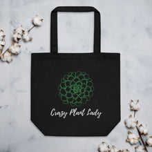 Load image into Gallery viewer, Crazy Plant Lady Eco Tote Bag