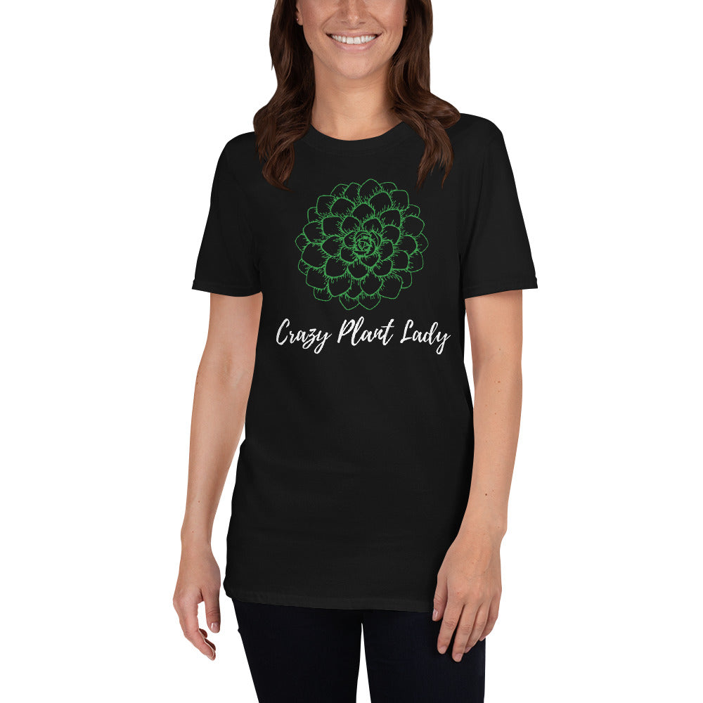 Crazy Plant Lady Short-Sleeve Unisex T-Shirt