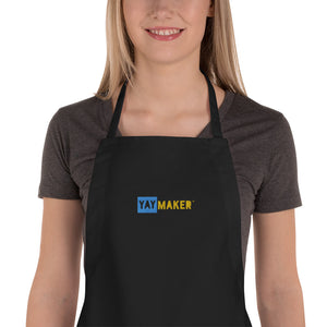 Yaymaker Paint Nite Embroidered Apron