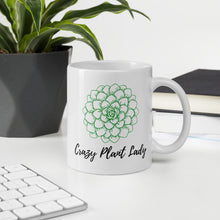 Load image into Gallery viewer, Crazy Plant Lady Mug