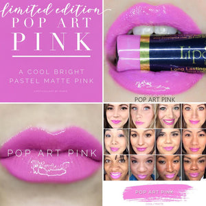 Lipsense: Pop Art Pink Liquid Lip Color