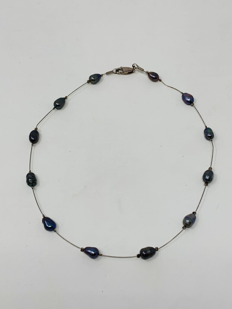 Necklace Black Pearl