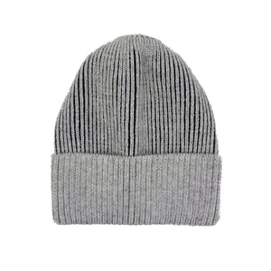 Ribbed Lurex Knit Hat