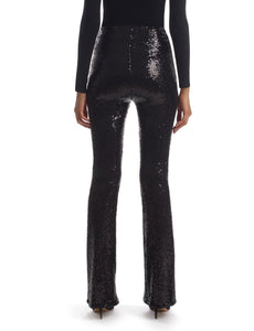Sequin Flared Legging