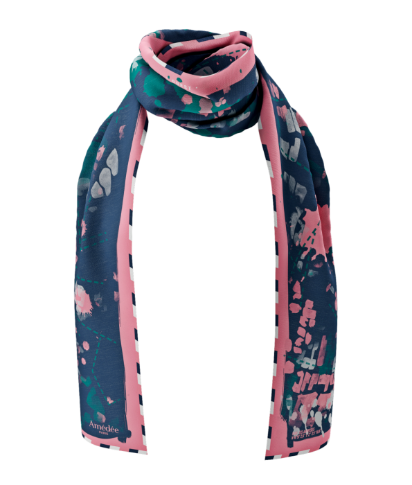 Abbesses Twill Scarf