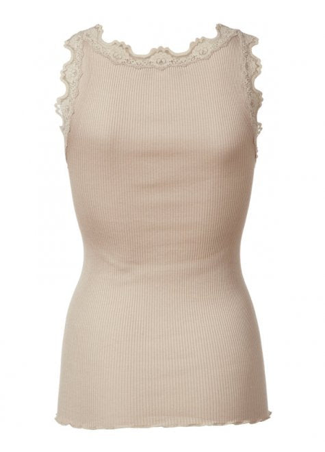 Lace Top in Silk