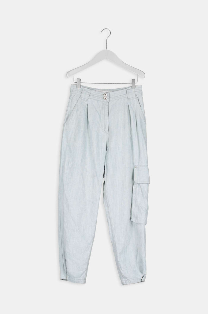 Anne Trousers - Light blue
