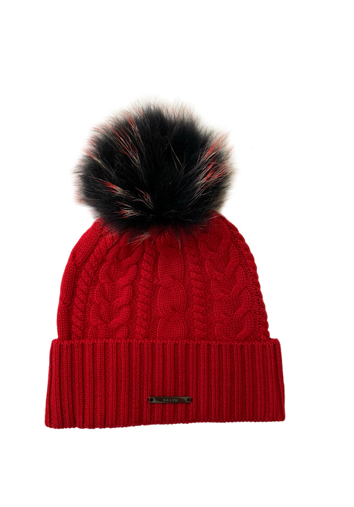Rouge And Red Black Racoon Hat