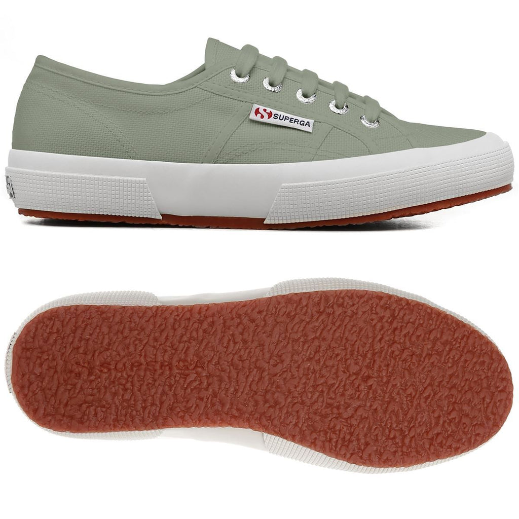 Cotton Sneakers - Sage Green