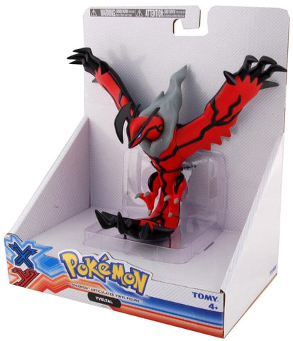 Pokemon Yveltal Tomy Large Size Articulated Vinyl Action Figure