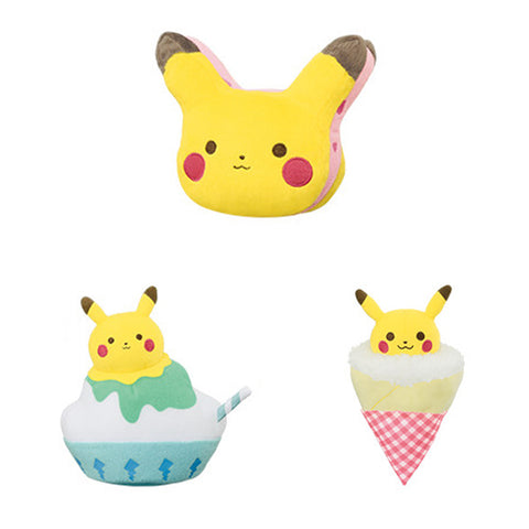 Pikachu Tea Time Treats Pokemon Small Plush