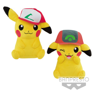Pikachu I Choose You! Kanto/Hoenn Ash Cap Plush